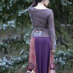 NuvoTerre Flamenco Ruffle Skirt