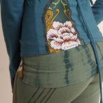 NuvoTerre Mosaic Wrap Jacket & Yoga Pant