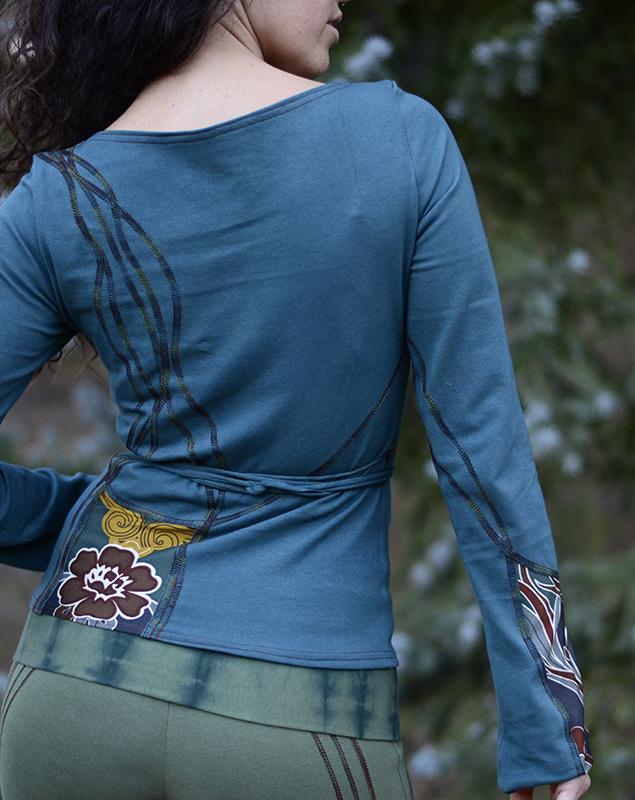 NuvoTerre Mosaic Wrap Jacket