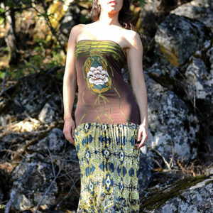 NuvoTerre Stone Flower Dress