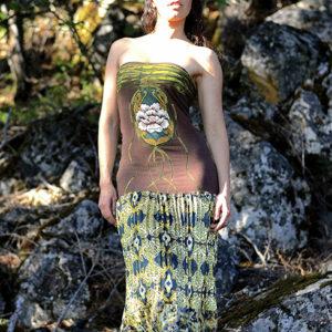 NuvoTerre Stone Flower Dress